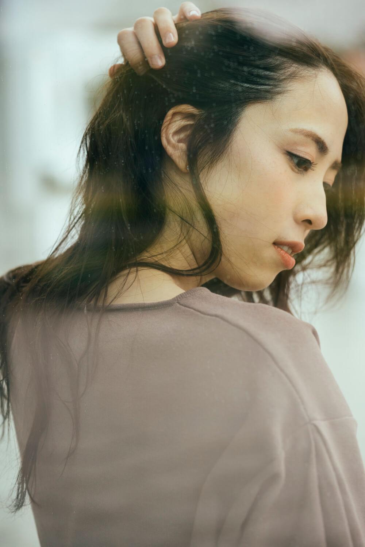 モデル 松谷 美佳