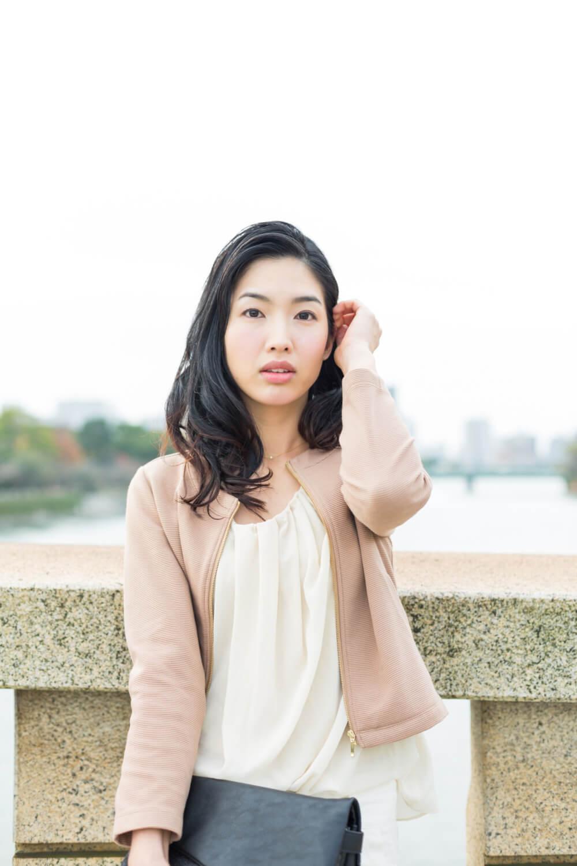 モデル 村岡 永梨