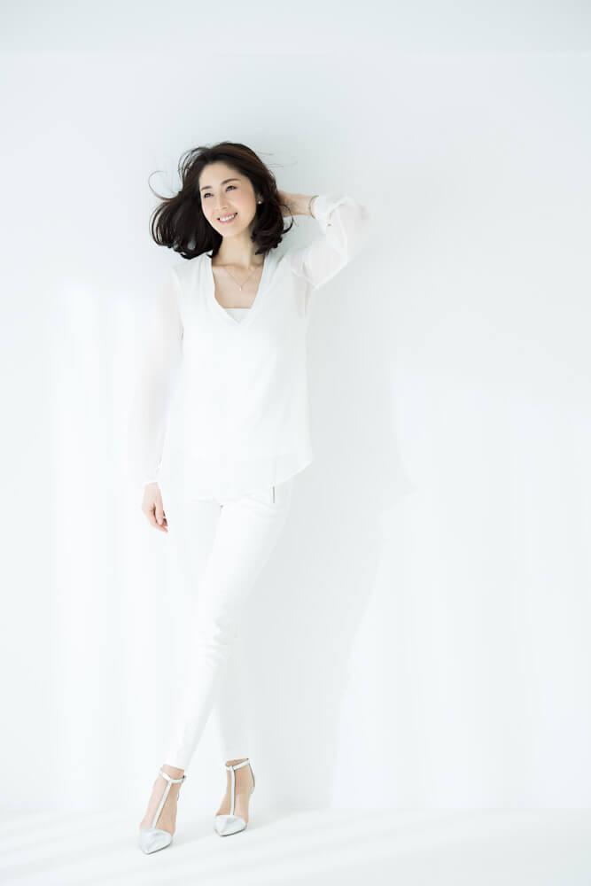 モデル 芦田 桂子