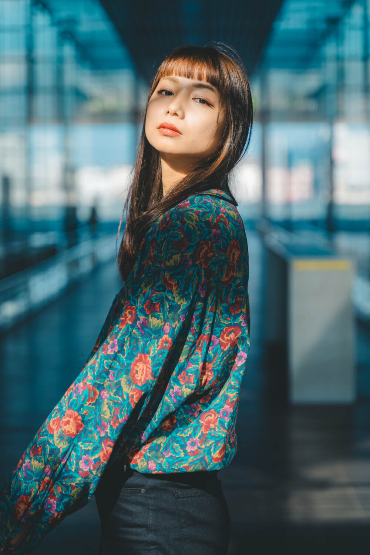 モデル 安田 夏生
